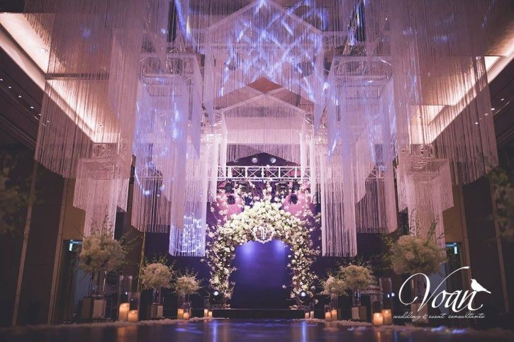 Các địa điểm thường dùng để tổ chức lễ cưới