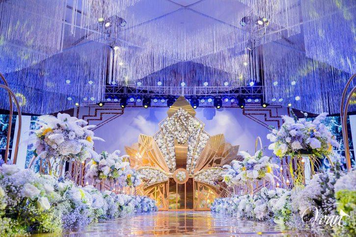 ánh sáng trong trang trí tiệc cưới vô cùng quan trọng