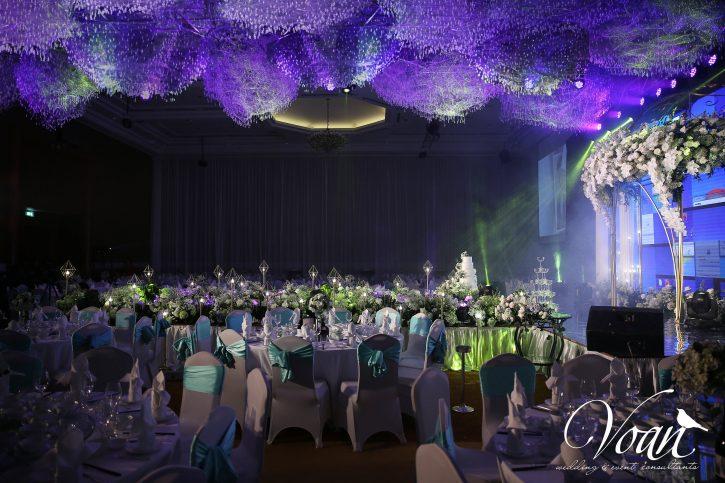 Lưu ý khi trang trí sảnh tiệc cưới