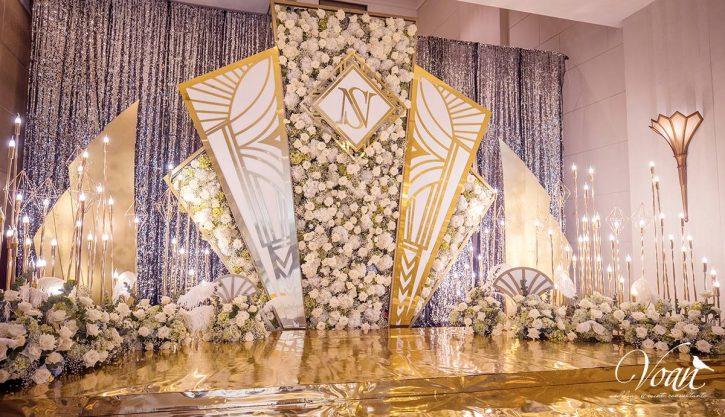 trang trí sảnh tiệc cưới